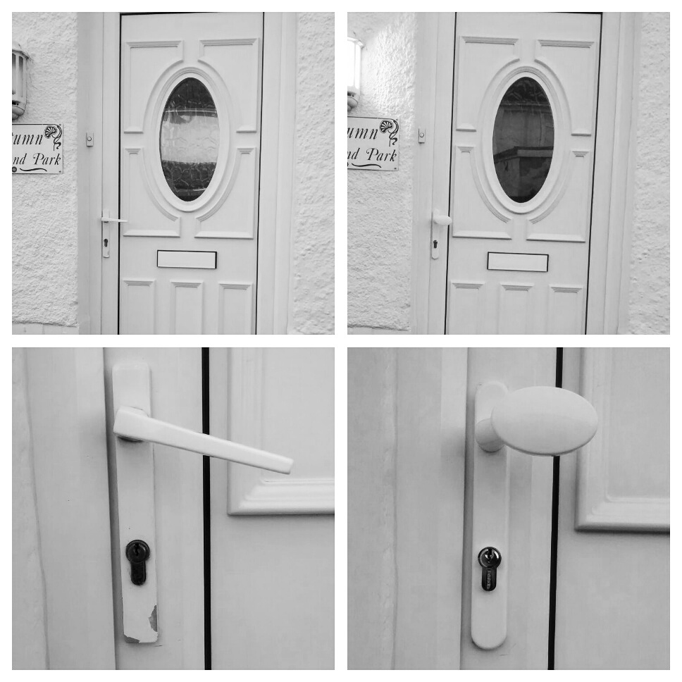 four_pictures_in_black_and_white_showing_an_upgraded_upvc_door